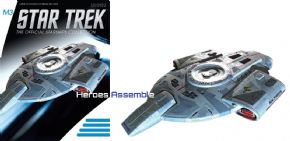 Star Trek Official Starships Collection M3 Mirror Universe ISS Defiant NX-74205 Eaglemoss